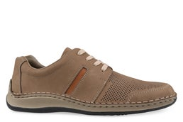 05205-60 Leather Lace-up Casual Shoe