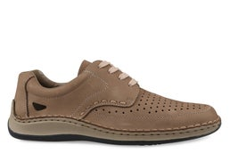 05237-64 Leather Lace-up Casual Shoe