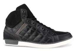 Brand Leather Lace-up Casual Shoe