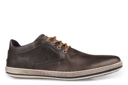 Coaster Leather Lace-up Casual Shoe