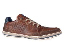 Crest Leather Lace-up Casual Shoe