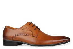 Lucca Leather Lace-up Dress Shoe